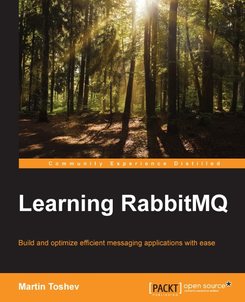 Learning RabbitMQ book cover